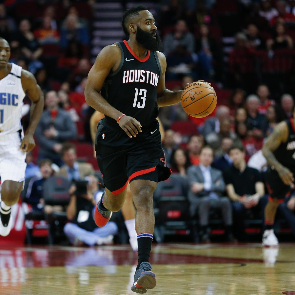 James Harden Nba Records: Twitter Explodes As James Harden Records 1st-Ever 60-Point