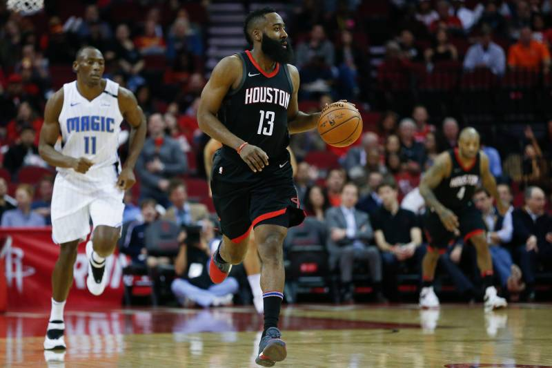 Image result for Twitter Explodes as James Harden Records 1st-Ever 60-Point Triple-Double
