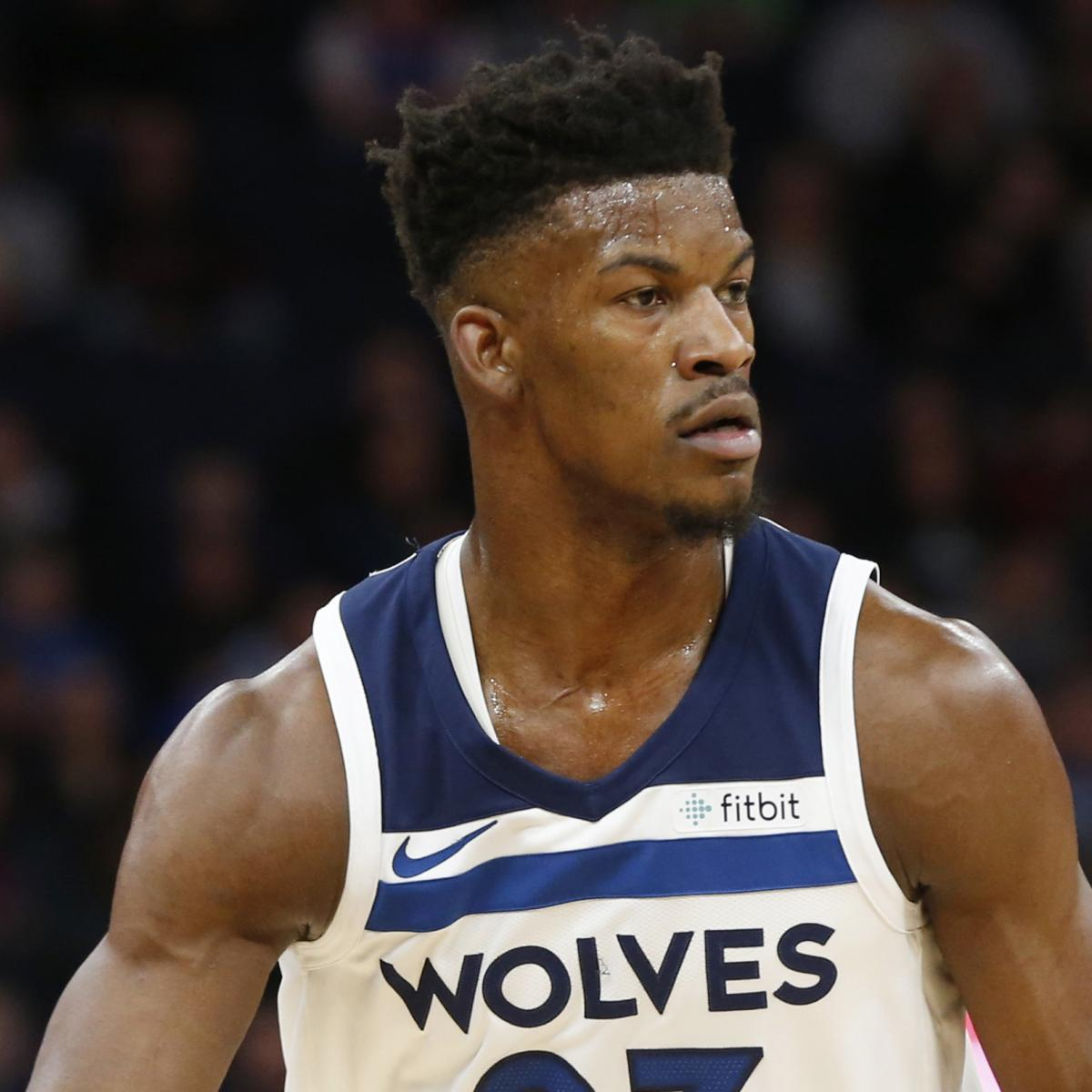 Jimmy Butler Helped off Court with Knee Injury After ...