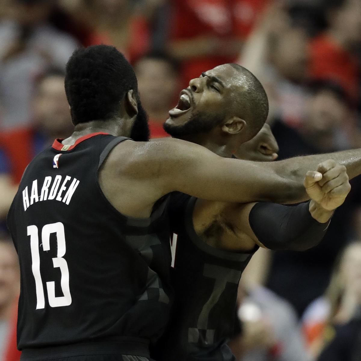 James Harden Nba Records: NBA History Hasn't Seen Many 1-2 Punches Like James Harden