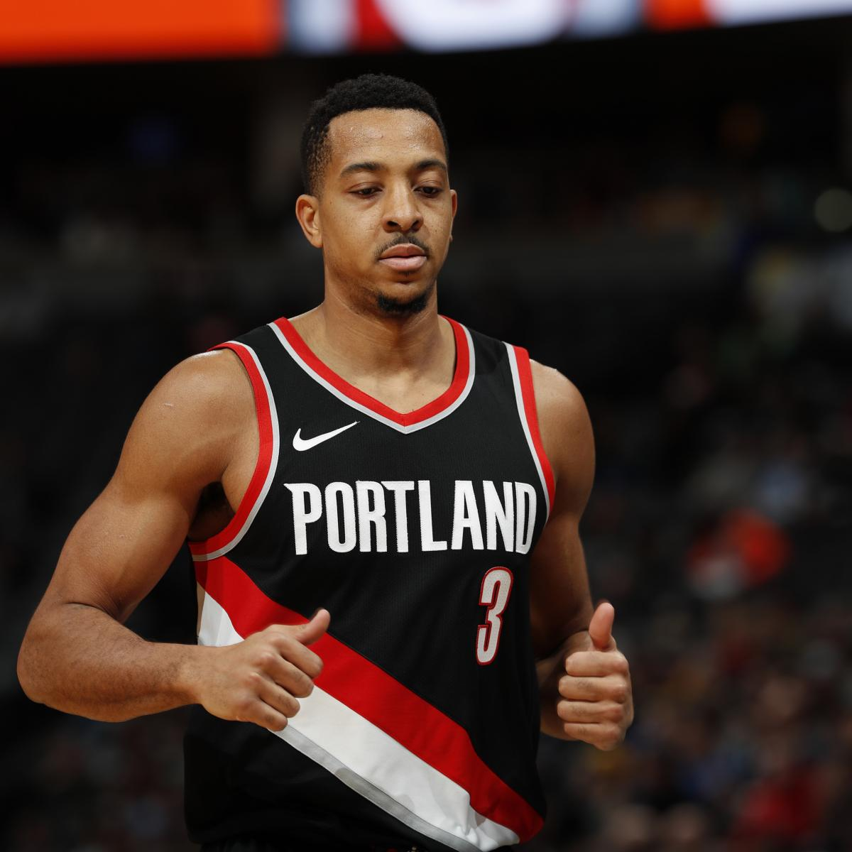 Portland Blazers Schedule: CJ McCollum Drops 50 Points As Trail Blazers Rout Bulls