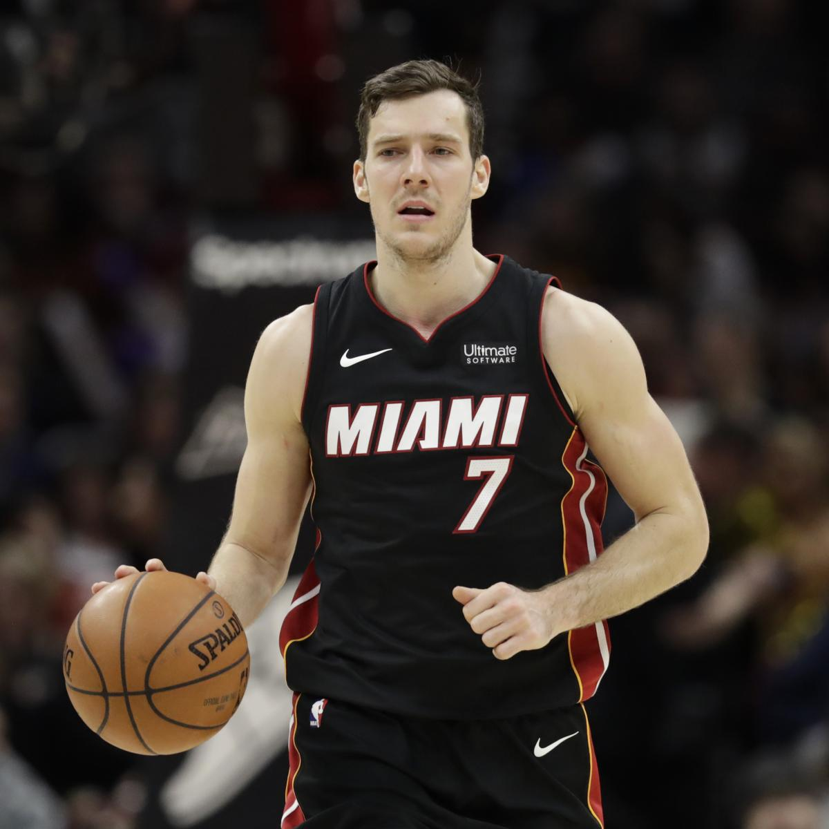 1debbcaba Goran Dragic to Replace Kevin Love at 2018 NBA All-Star Game After PF s  Injury