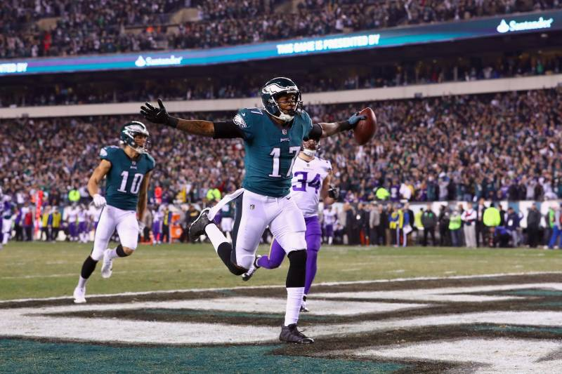 buy online 186c2 79192 Alshon Jeffery: 'We're Bringing That Trophy Back to Philly ...