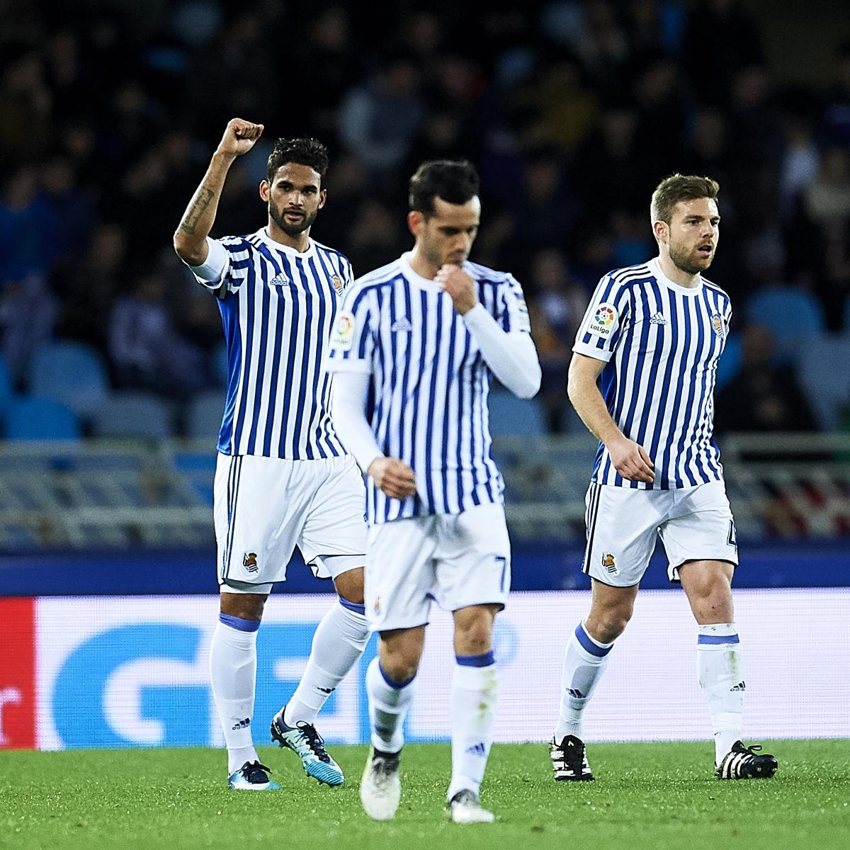 La liga table 2018 latest standings following friday 39 s week 22 results bleacher report - La liga latest results and table ...