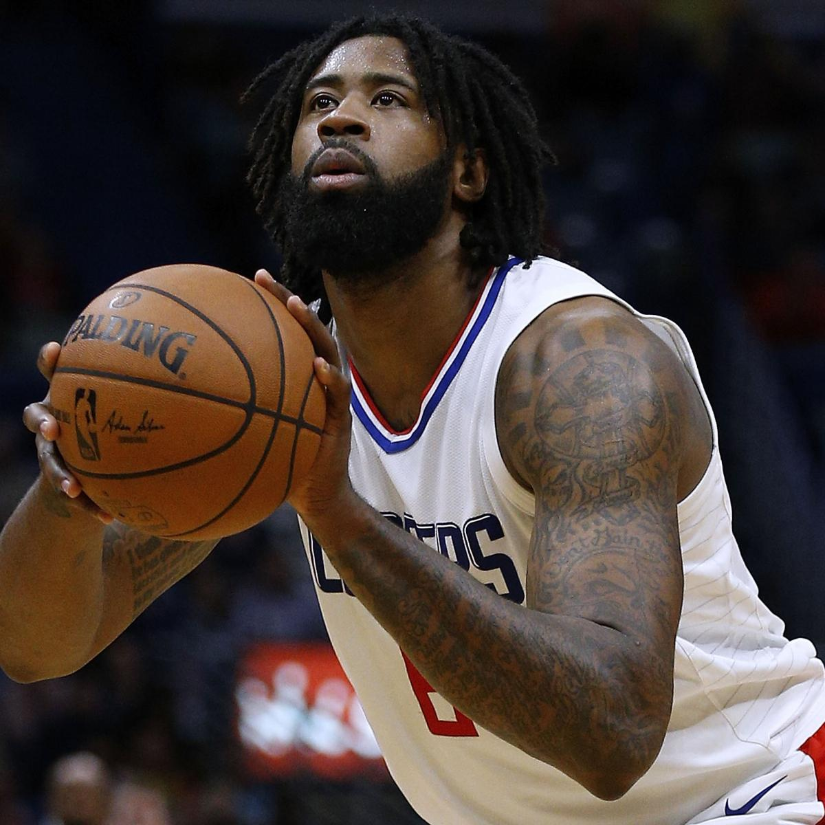 Quakertown Blazers 2018 Schedule: DeAndre Jordan Trade Rumors: Blazers, Clippers Have