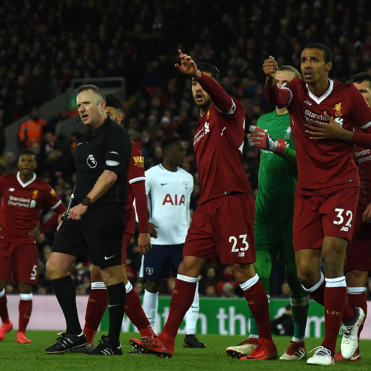 Premier League Results: 2018 EPL Week 26 Scores, Table and ...