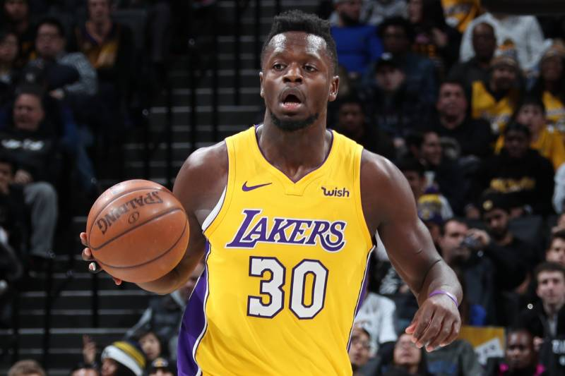 best loved 39efe 97418 Julius Randle Not Traded by Lakers Despite LA's Active ...