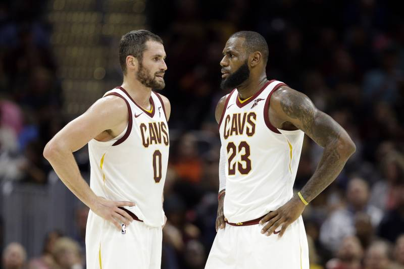 2e3ba65817bf Rumor  Execs Believe Cavs Would Try to Trade Kevin Love If LeBron ...