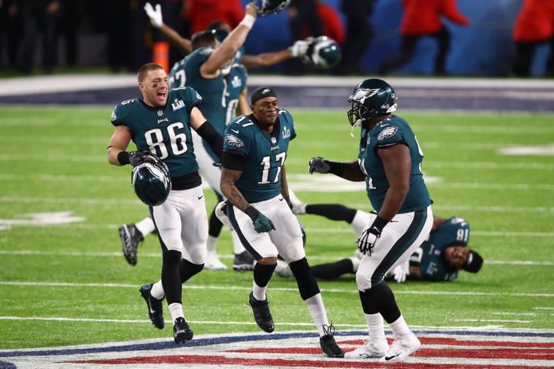 497f18f3c4cd Eagles vs Patriots Super Bowl 52 Averaged 103.4M Viewers  Lowest Rated Since   09