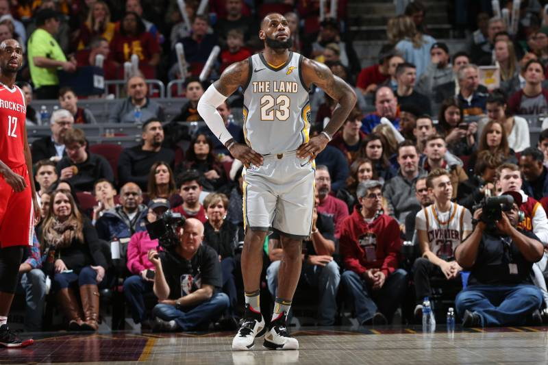 77291f3e83e LeBron James Reportedly Cursed at Cavaliers Executives in  Heated ...