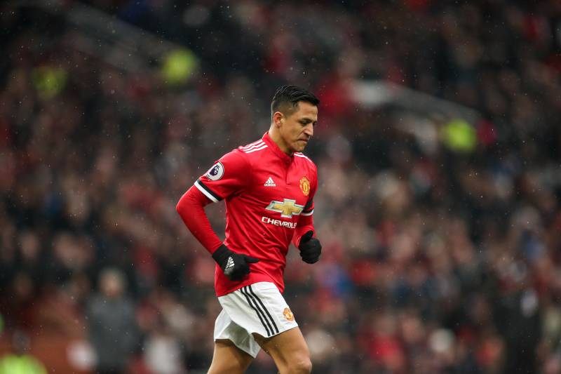 Alexis sanchez given 16 month prison sentence for tax fraud in manchester england february 03 alexis sanchez of manchester united during the premier league stopboris Image collections
