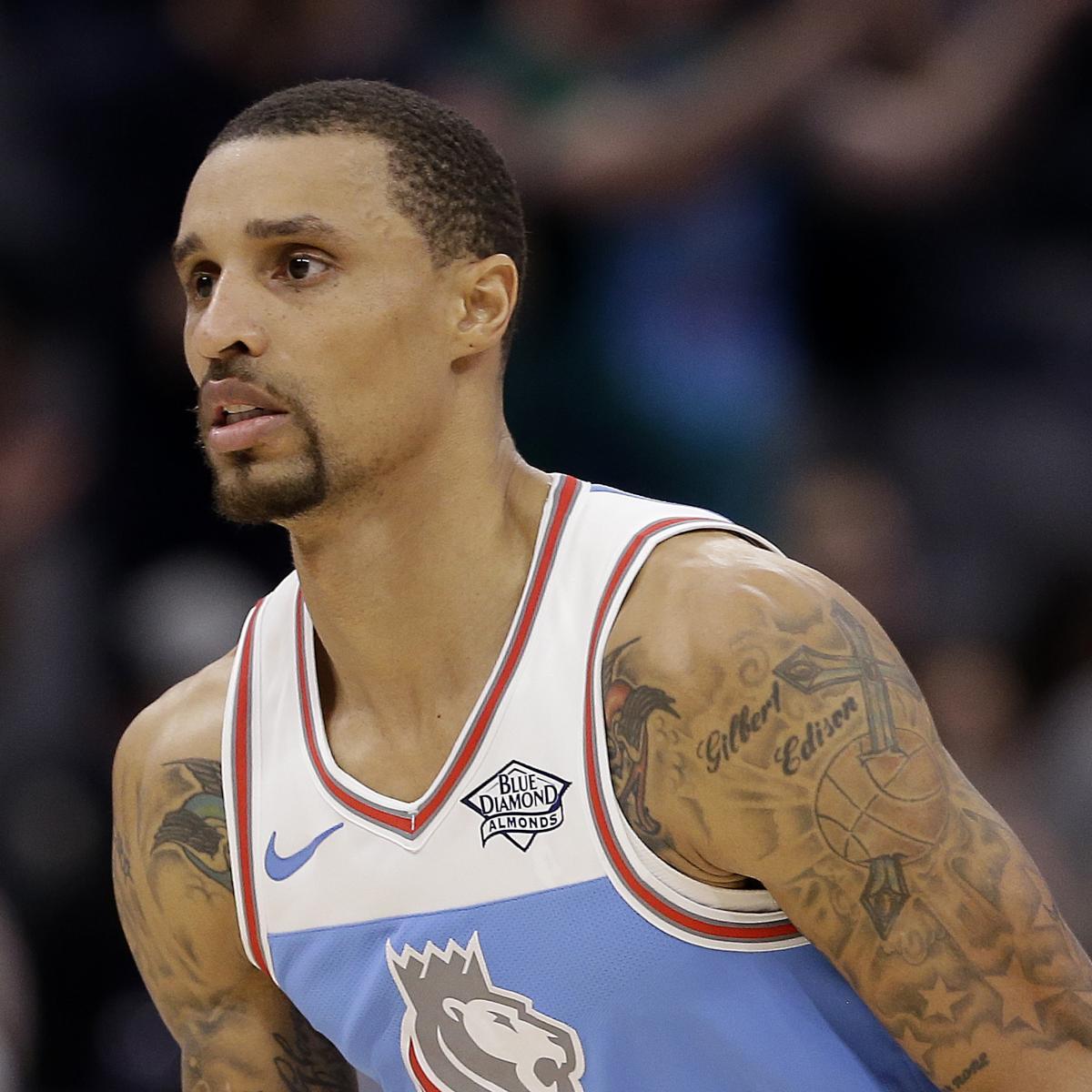 Houston Rockets Iman Shumpert: George Hill Trade Rumors: Rockets, Cavaliers Interested In