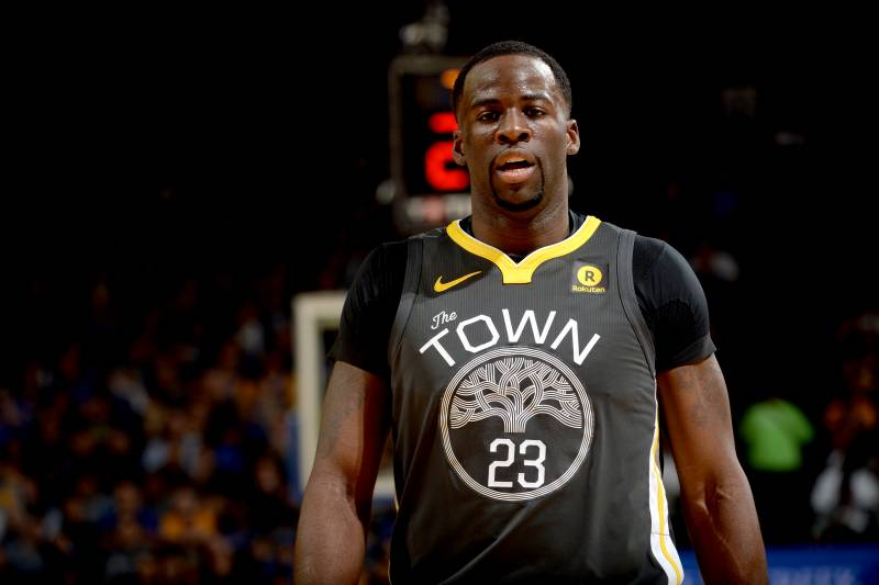 new arrival f6b11 a4e46 Draymond Green Fined $50,000 for Inappropriate Language ...