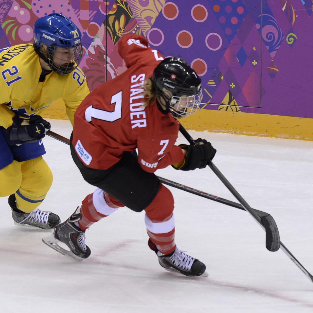 Olympic Hockey 2018 Schedule, Live Stream For Saturday's