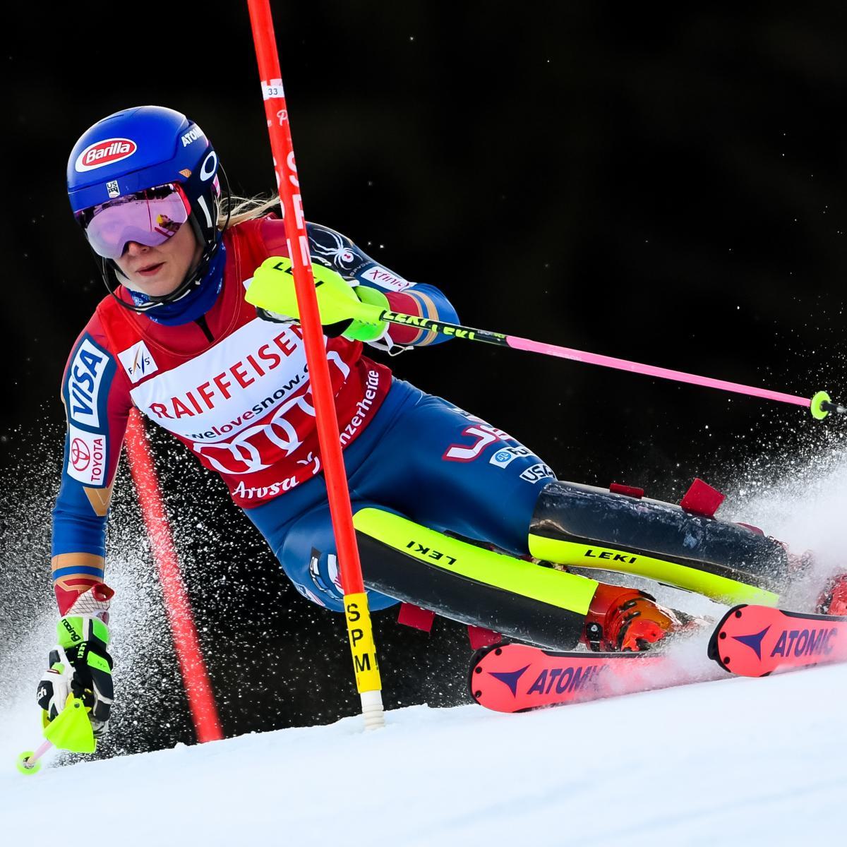Olympic Alpine Skiing Schedule 2018: Women's Giant Slalom