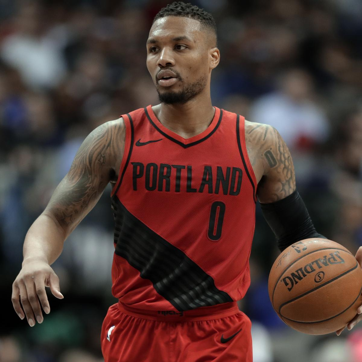 Blazers Injury Report: Damian Lillard: I'm Going To Be Smart After Suffering