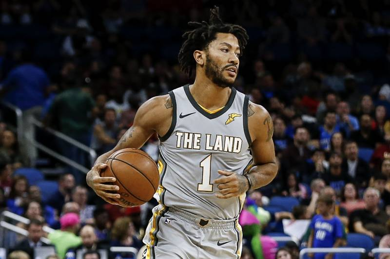 a11340cd47d Derrick Rose Rumors  Timberwolves Have  Great Interest  in PG Amid Wizards  Buzz