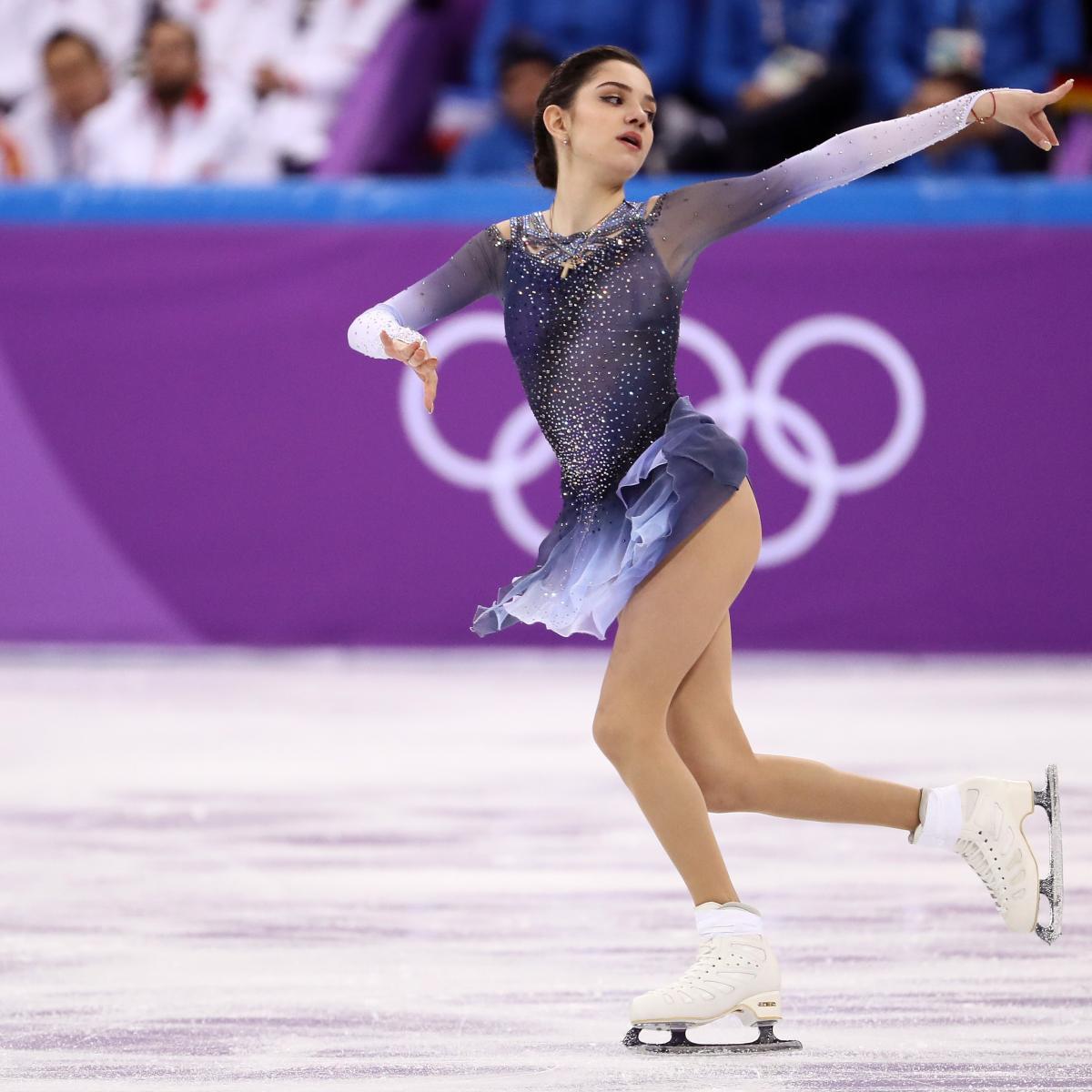 Olympic Figure Skating Results 2018 Ladies Short Program