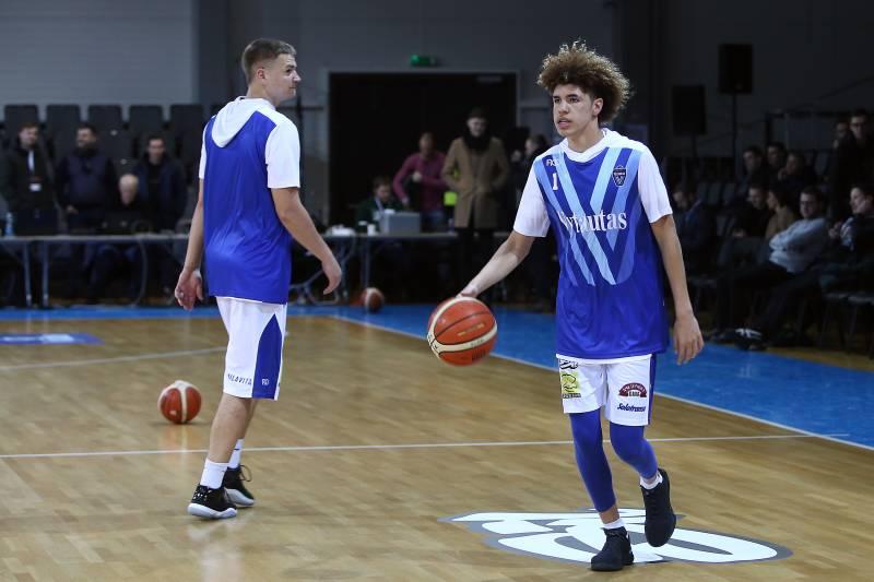 Liangelo Ball Helps Vytautas Snap 9 Game Losing Streak