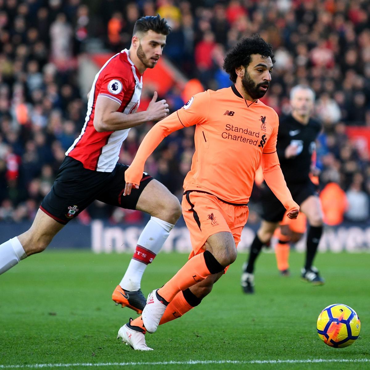 Liverpool Defeat Southampton 2-0 Behind Mohamed Salah ...