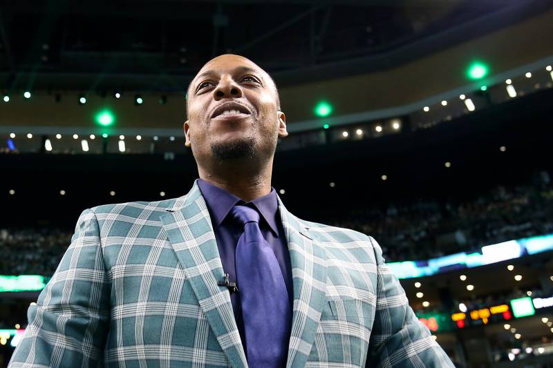Paul Pierce s No. 34 Jersey Raised to the Rafters at Celtics ... 8f6f2b2e0