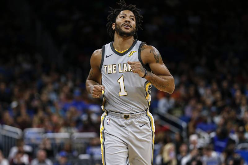740100fb8fd1 NBA Rumors  Latest Buzz Surrounding Derrick Rose