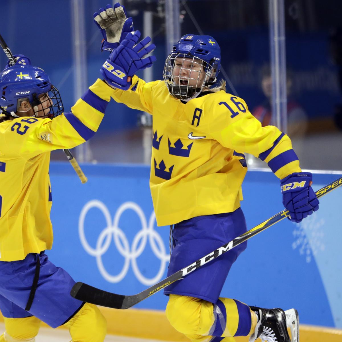 Olympic Hockey Results 2018: Switzerland, Sweden Win on ...