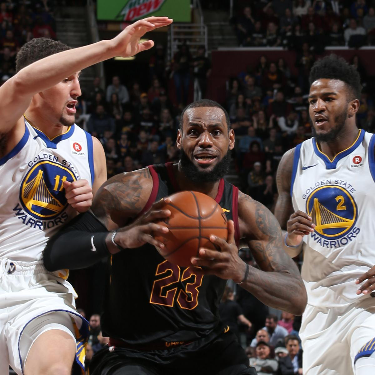 43e38d8169a Every NBA Contender's Odds of Landing LeBron James in 2018 Free Agency