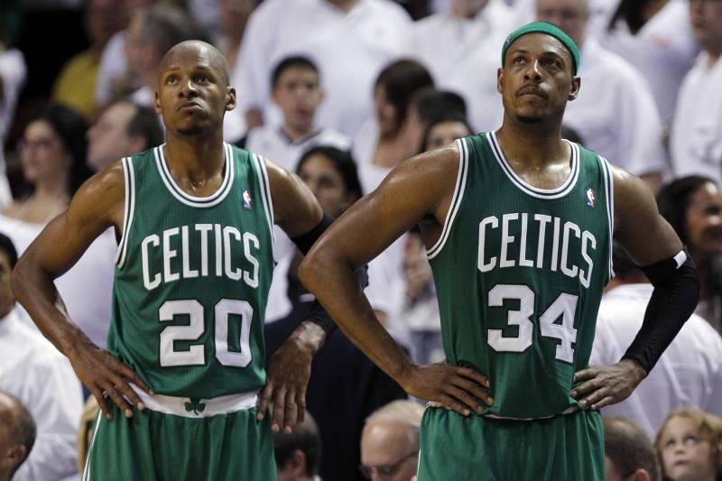 the best attitude 33d17 38b26 Paul Pierce Talks Ray Allen Missing Celtics Jersey ...