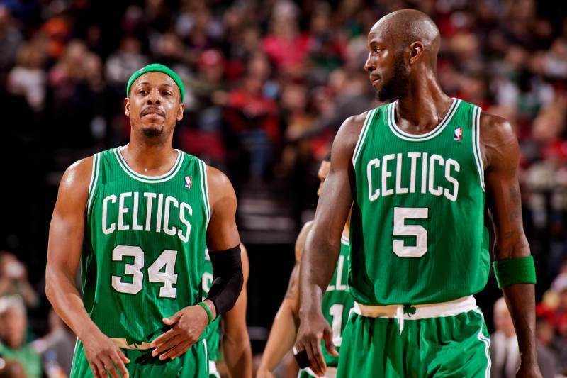 timeless design 4ac24 de88a Paul Pierce: Kevin Garnett Will Have Celtics Jersey Retired ...