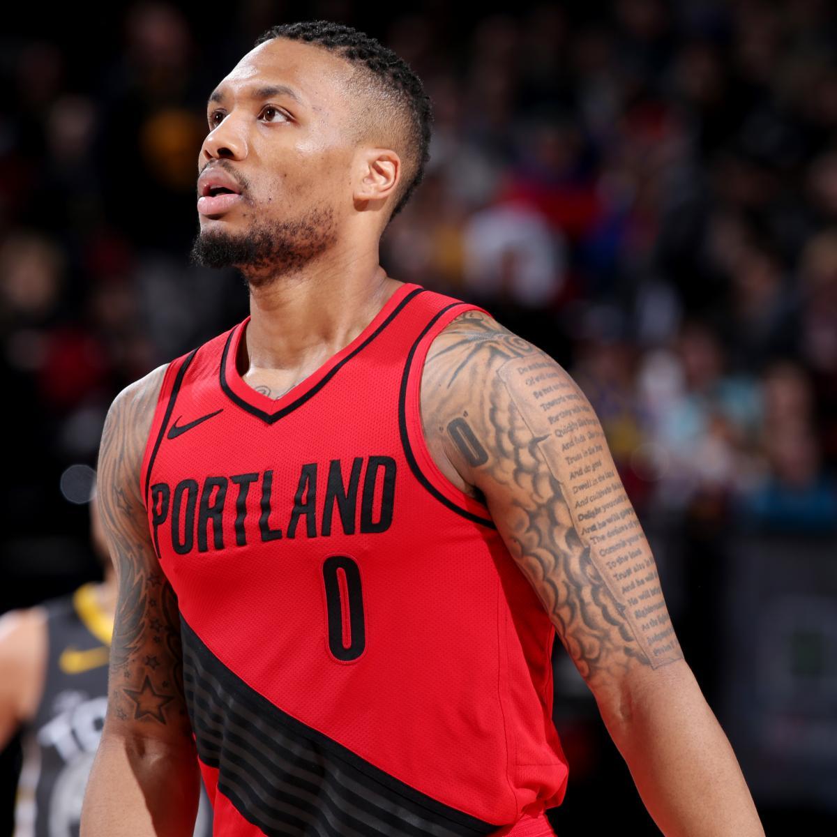 Portland Trail Blazers Placing Faith In Damian Lillard As