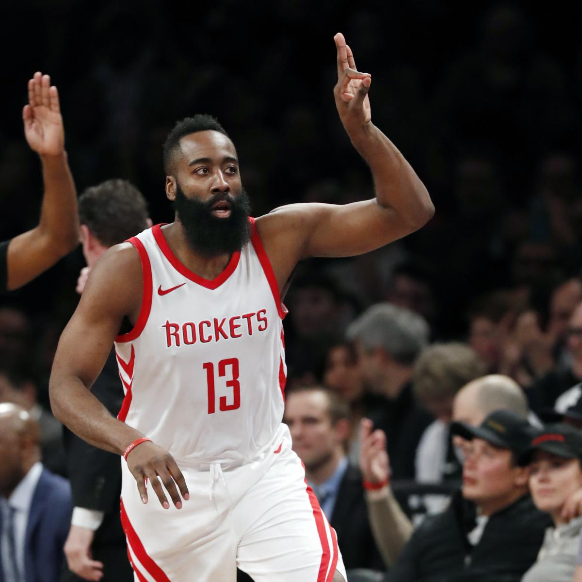 Rockets All Time Roster: Rockets Enter All-Star Break With NBA's Best Record For