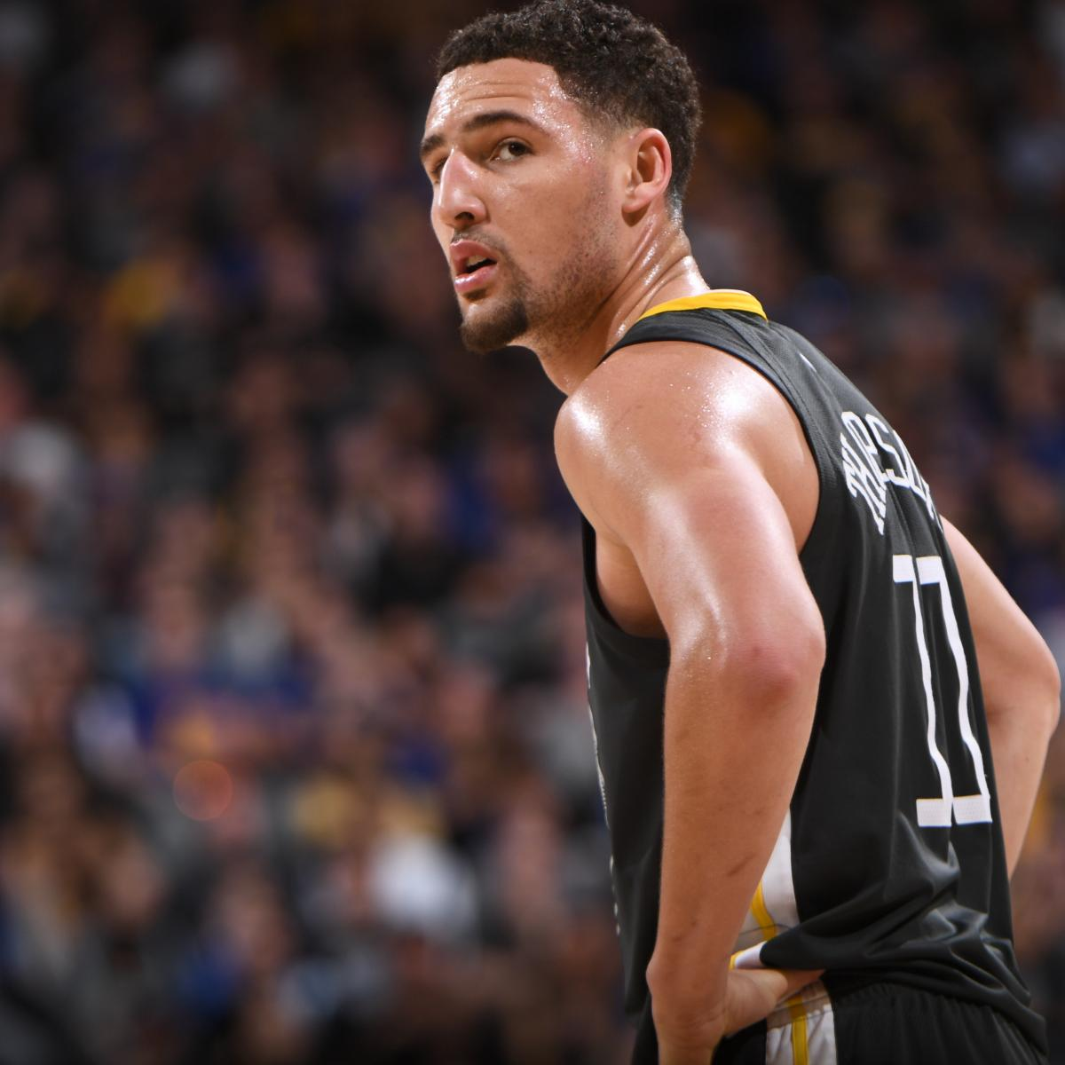 Warriors Come Out To Play Bleacher Report: Klay Thompson Says Goal Is To Play For Warriors His Entire