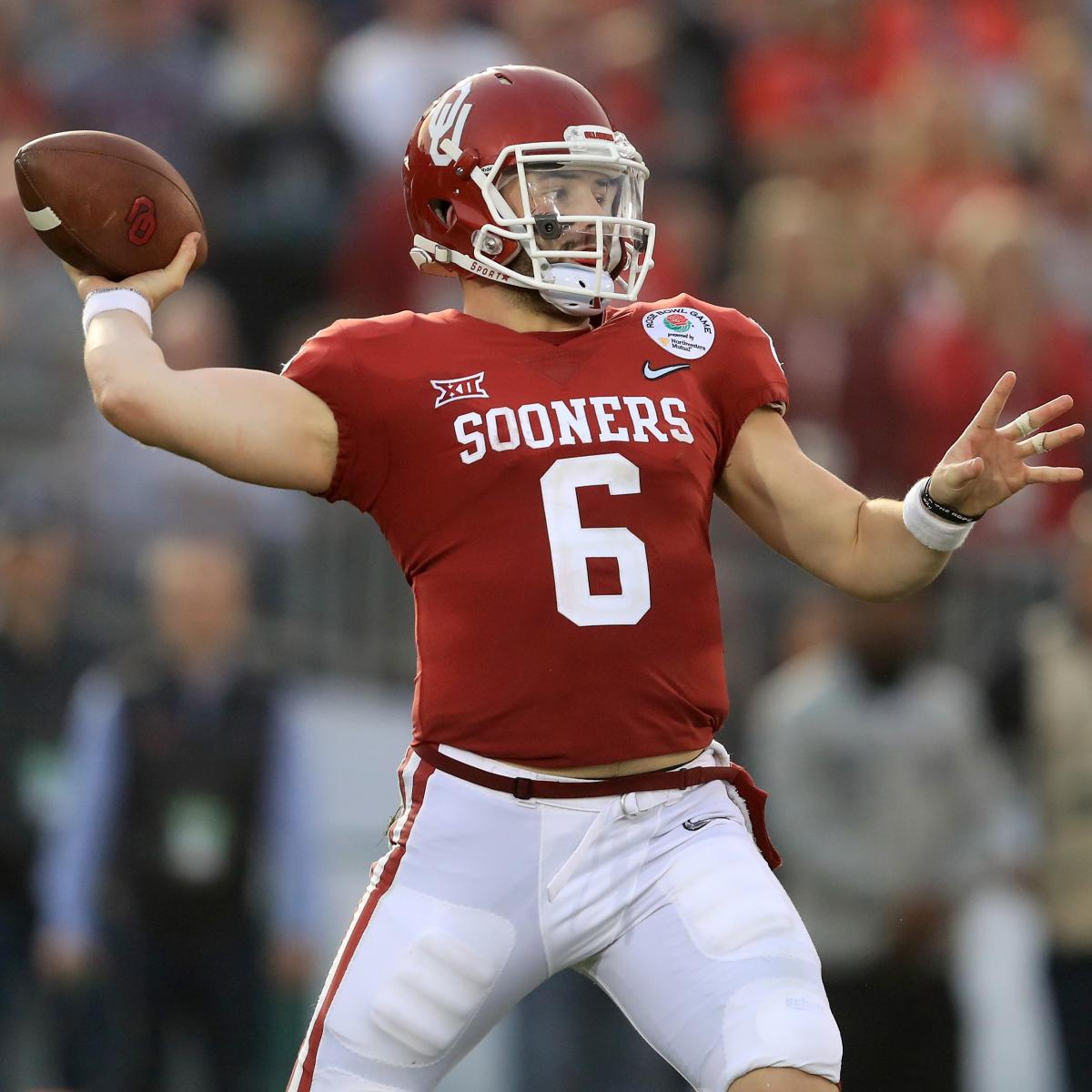 1866360e7 Browns Pick Baker Mayfield No. 1 in 2018 NFL Draft