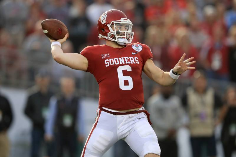 19a08221e37 Browns Pick Baker Mayfield No. 1 in 2018 NFL Draft
