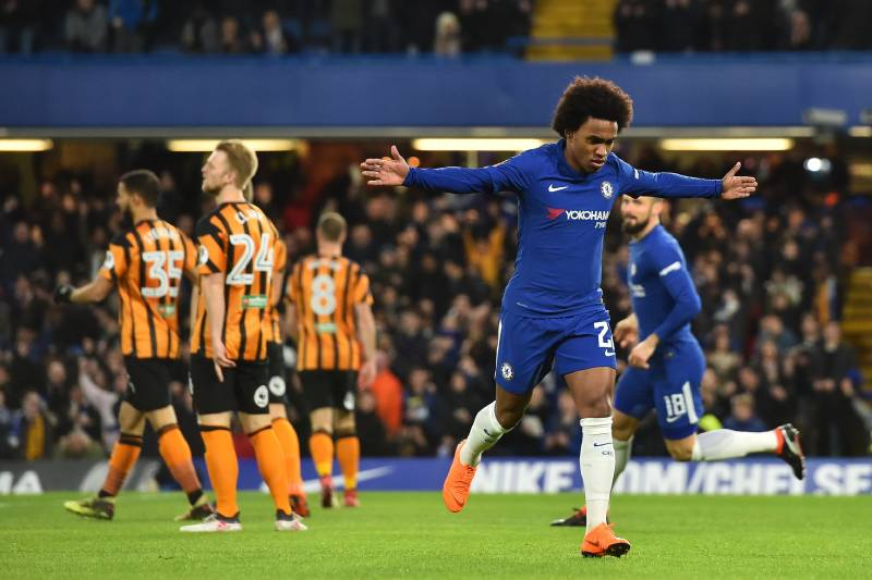 Image result for chelsea vs hull city FA Cup 2018