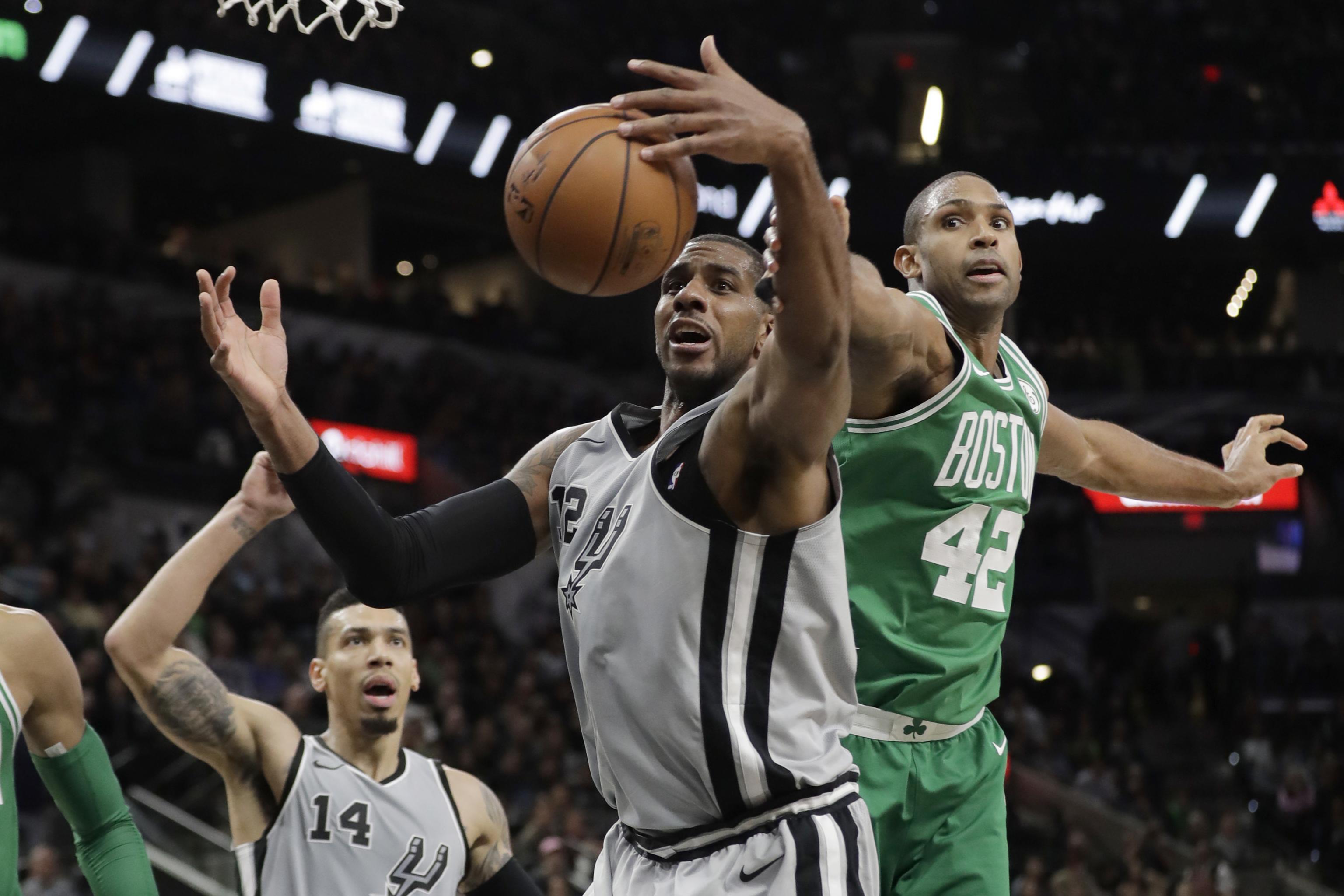 save off 9a3e6 93223 Report: LaMarcus Aldridge, Al Horford Picked Last in NBA All ...