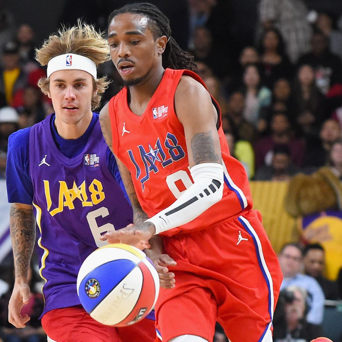Quavo Wins MVP for 2018 NBA Celebrity Game  Team Clippers Beats Team Lakers   5f87cbc64