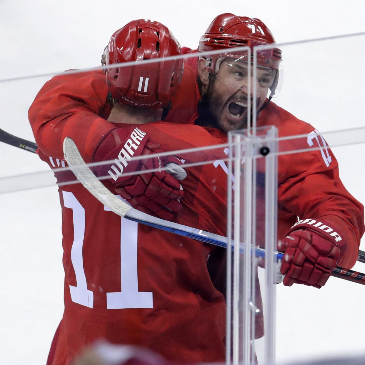 Ilya Kovalchuk, Russian Athletes Cruise Past USA in 2018 Olympics Hockey