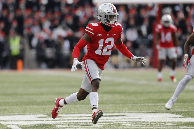 the best attitude 3829a e3e52 Denzel Ward Drafted by Browns No. 4; Twitter Explodes After ...