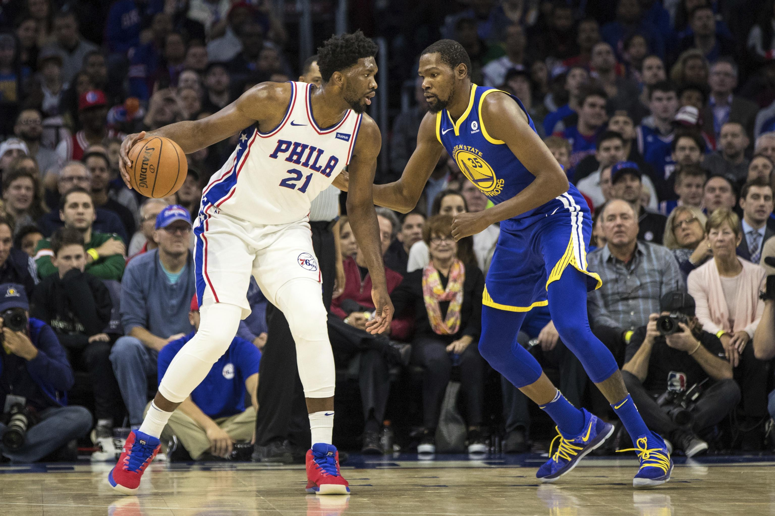Kevin Durant Says Joel Embiid Will Take Over NBA When He's Done | Bleacher  Report | Latest News, Videos and Highlights