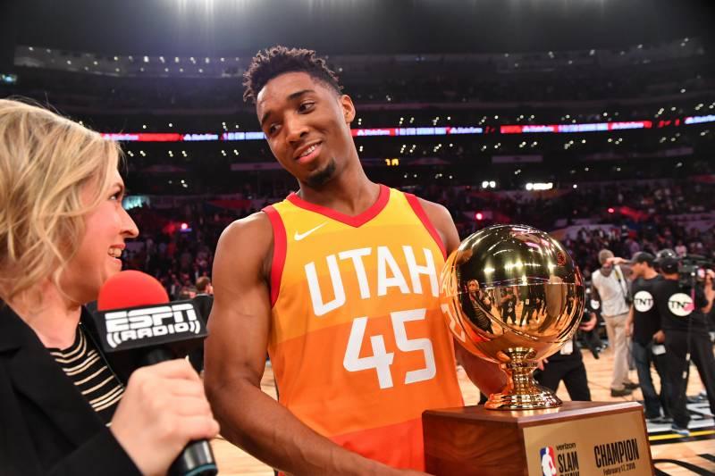 best website 3eaec 4b098 NBA Slam Dunk Contest 2018: Top Highlights, Reaction from ...