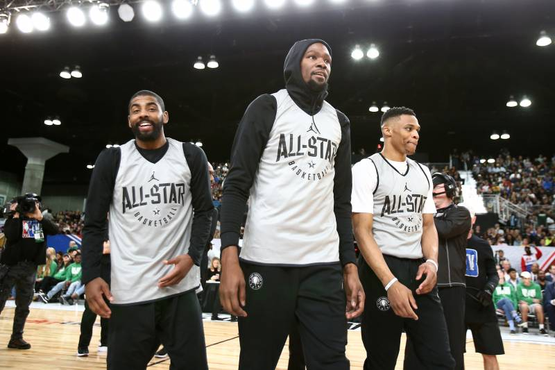 new product 3abb0 9ed69 NBA All-Star Game Uniforms 2018: Pictures and Breakdown of ...