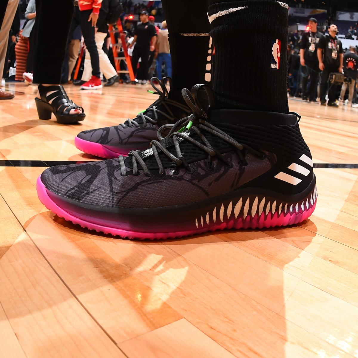 watch 5df90 9d843 Top Sneakers Worn During NBA All-Star Weekend 2018  Bleacher Report   Latest News, Videos and Highlights