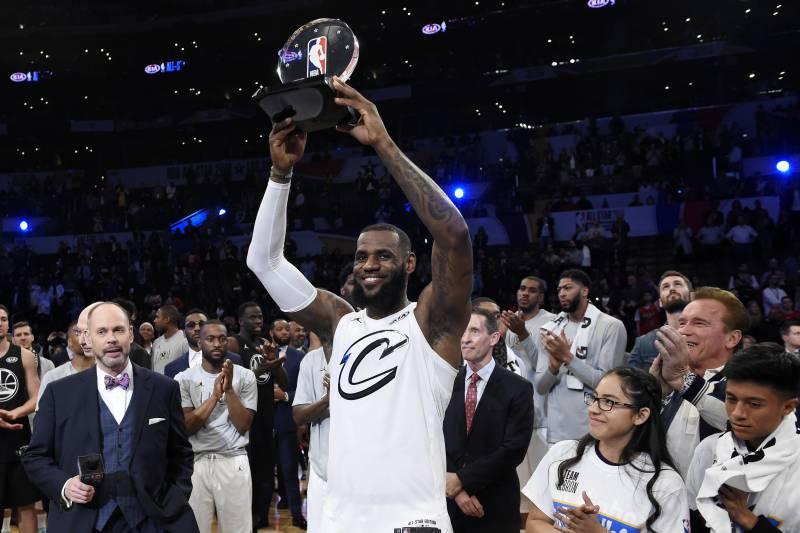 a30beaa8c453 LeBron James Wins 3rd NBA All-Star Game MVP Award