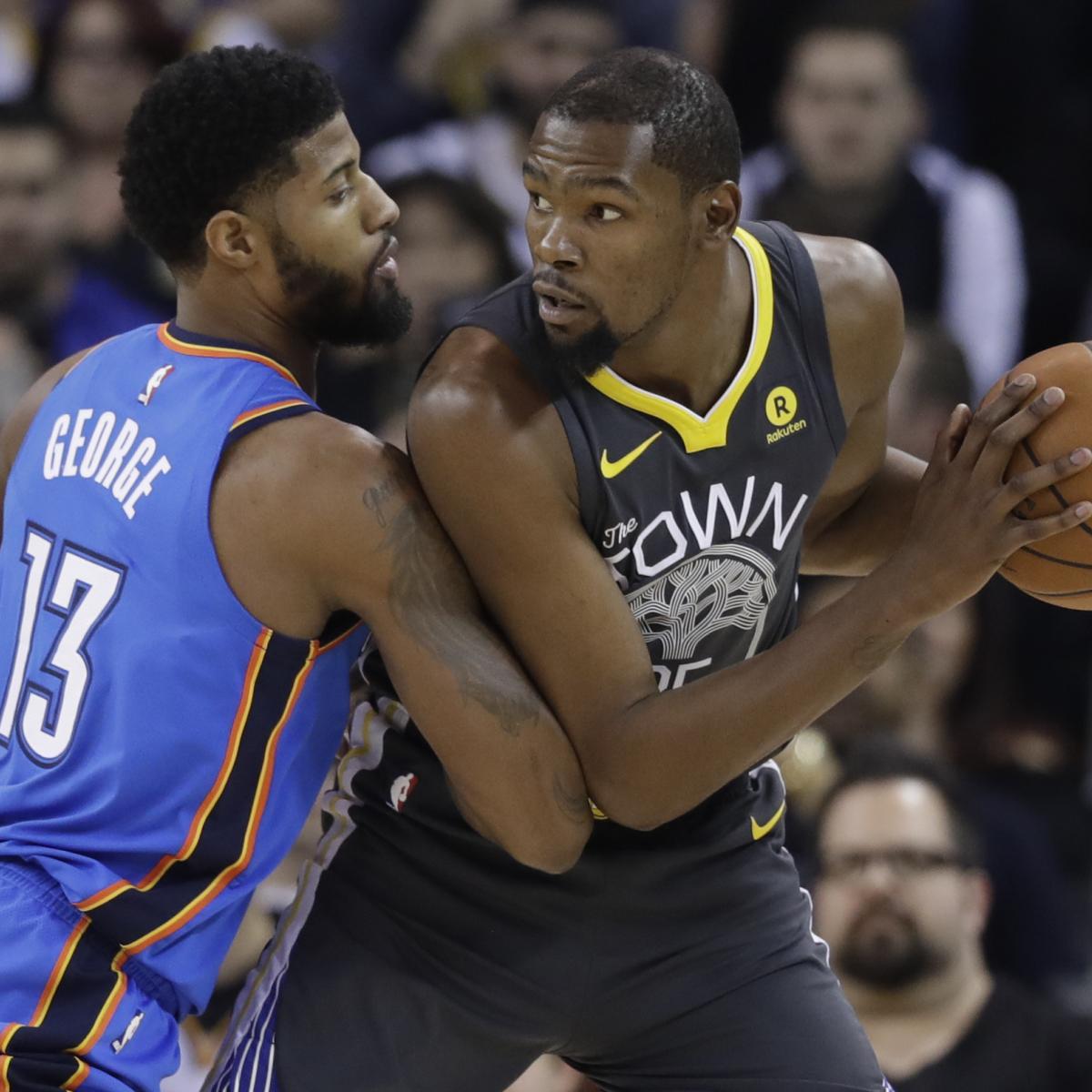 2018 NBA Playoffs: The 1st-Round Opponent Each Contender