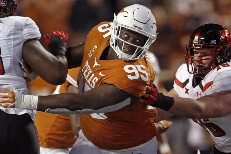 Meet Texas Dt Poona Ford The Best Player Not Invited To The 2018