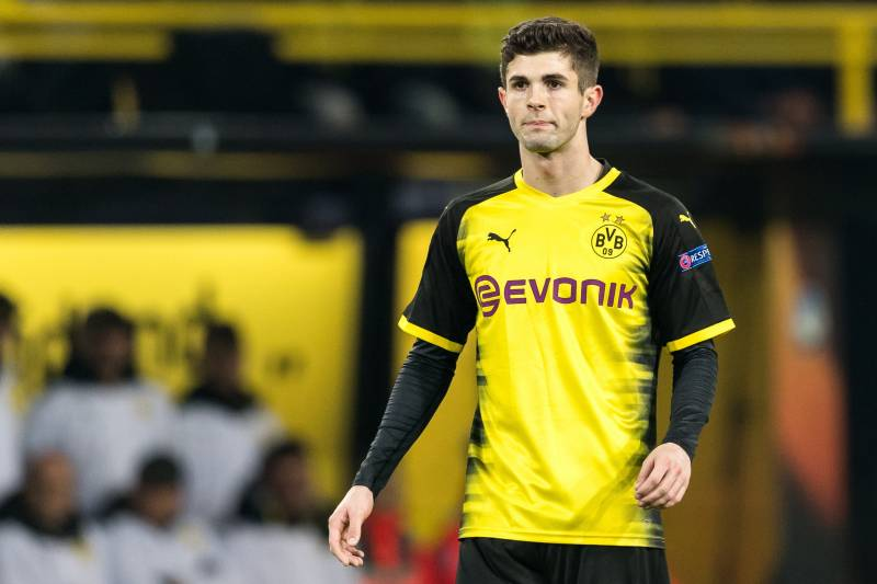 d24837d48 Christian Pulisic of Borussia Dortmund during the UEFA Europa League round  of 32 match between Borussia