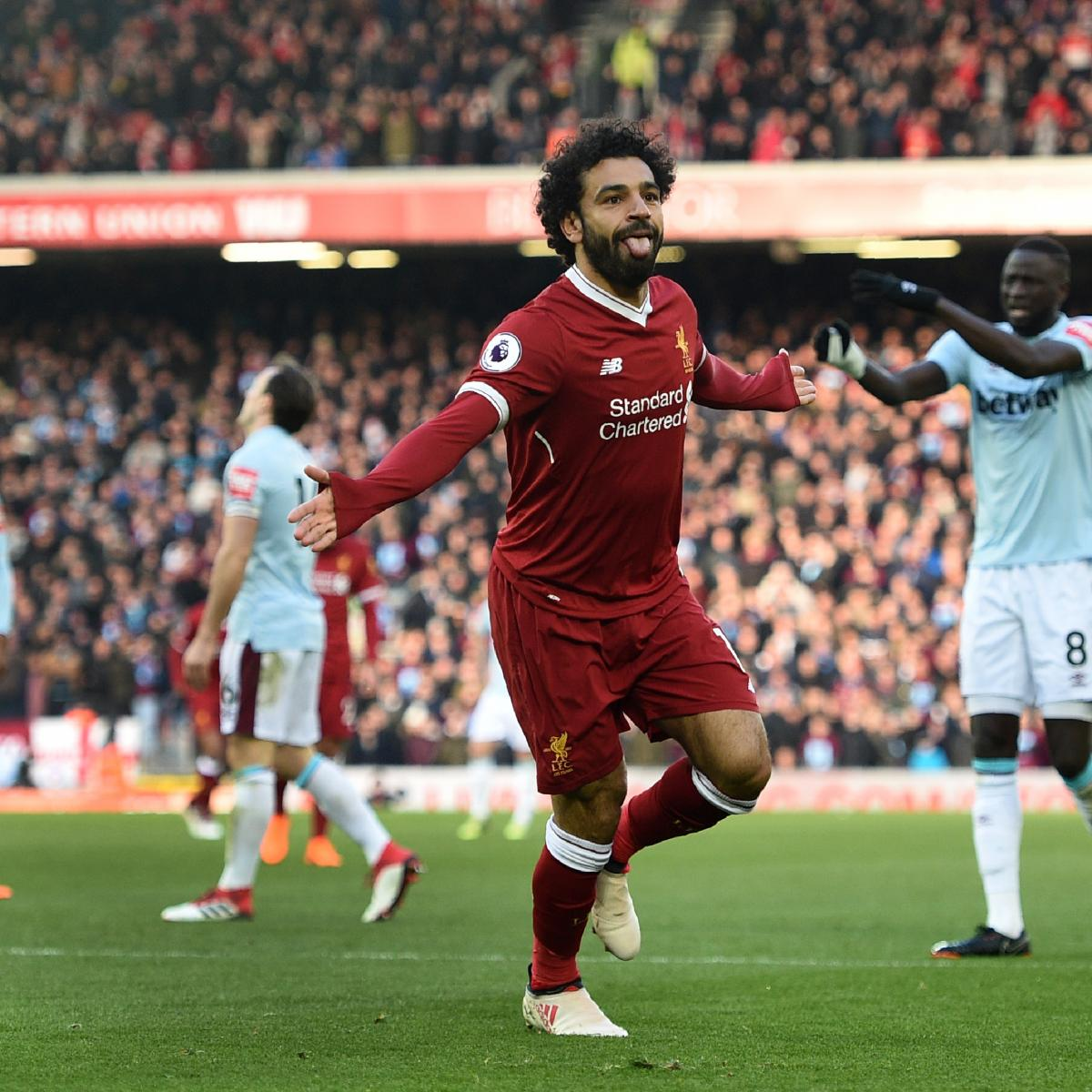Tottenham 3 Fulham 1 Match Highlights Harry Kane Scores: Mohamed Salah Scores As Liverpool Cruise Past West Ham In