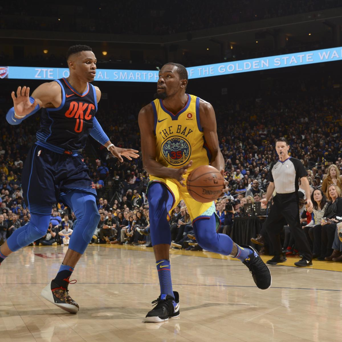 Warriors Come Out To Play Bleacher Report: Russell Westbrook Struggles In Thunder's Lopsided Loss To